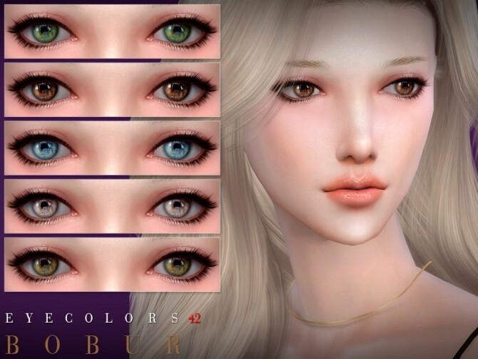 Sims 4 Eyecolors 42 by Bobur3 at TSR