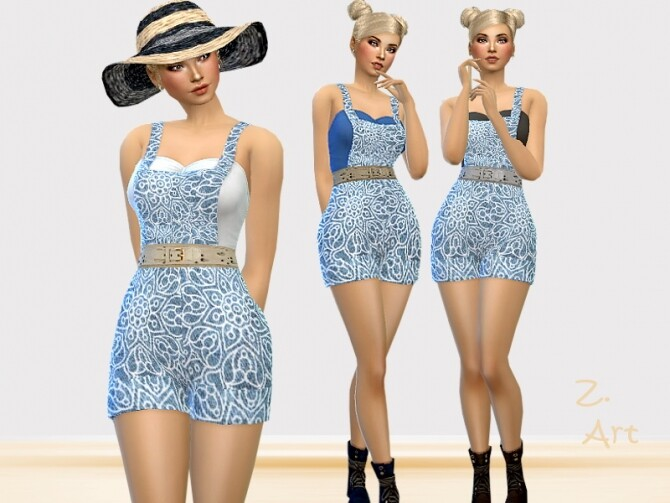 FarmZ. 03 Outfit by Zuckerschnute20 at TSR image 547 670x503 Sims 4 Updates