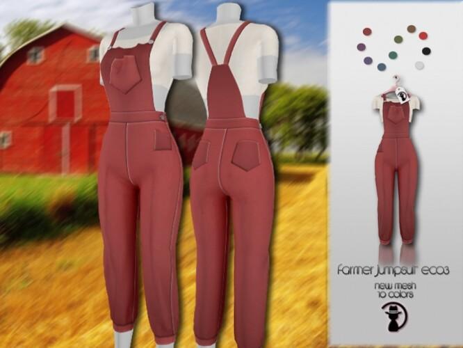 Farmer Jumpsuit EC03 by turksimmer