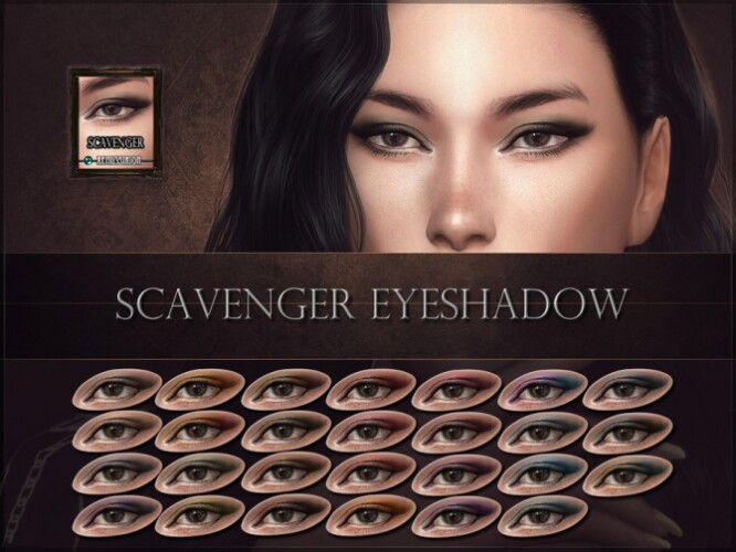 Scavenger Eyeshadow by RemusSirion