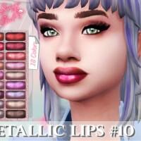 Metallic Lips 10 by FlaSimgo Club