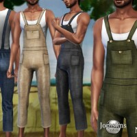 Nino farmer overalls by  jomsims