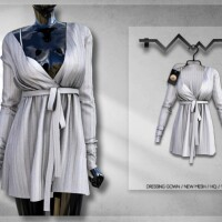Dressing Gown BD299 by busra-tr