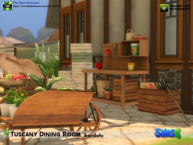 Tuscany Dining Room by kardofe