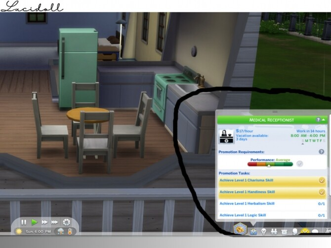 Health And Medical Administration Career By Lucidoll At Tsr Sims 4 Updates