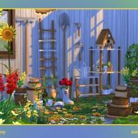Johnny set of garden supplies by soloriya