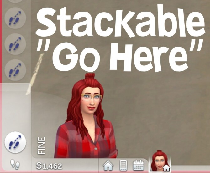 Sims 4 Stackable Go Here Interaction by abidoang at Mod The Sims