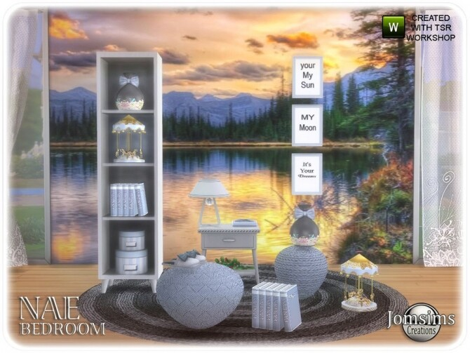 Nae bedroom 1 2 by  jomsims at TSR image 606 670x503 Sims 4 Updates