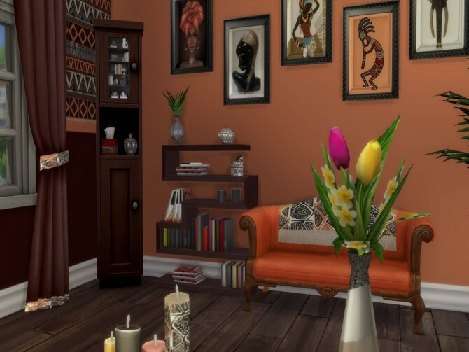 Out Of Africa Base Set Recolour by seimar8 at TSR image 6101 670x503 Sims 4 Updates