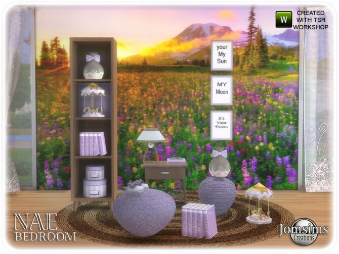 Nae bedroom 1 2 by  jomsims at TSR image 6110 670x503 Sims 4 Updates