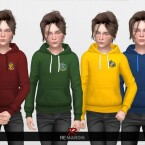 Harry Potter Hoodie for Kids 01 by remaron