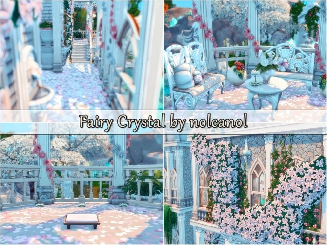 Fairy Crystal Castle by nolcanol at TSR image 627 670x503 Sims 4 Updates