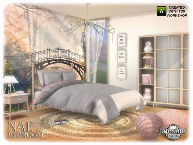 Nae bedroom 1 2 by  jomsims at TSR image 636 670x503 Sims 4 Updates