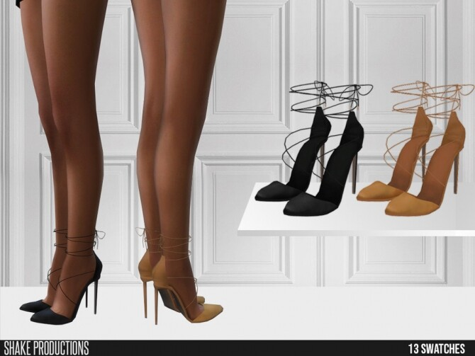 492 High Heels by ShakeProductions at TSR image 638 670x503 Sims 4 Updates