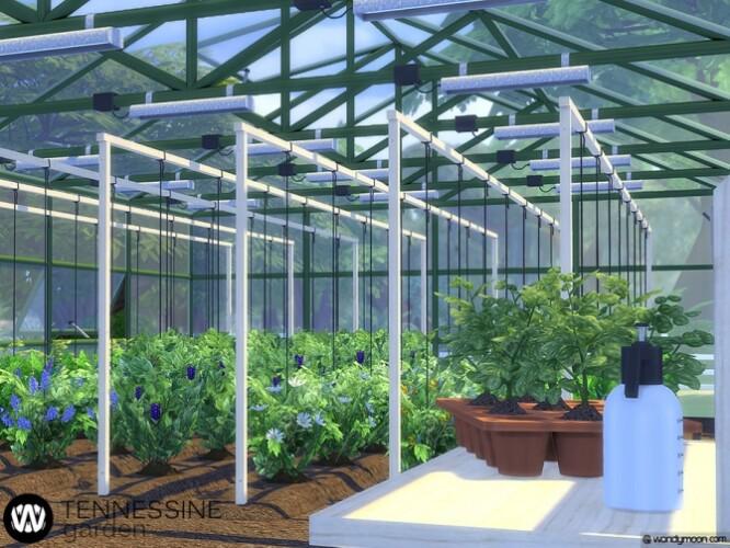Tennessine Garden Growing Plants by wondymoon
