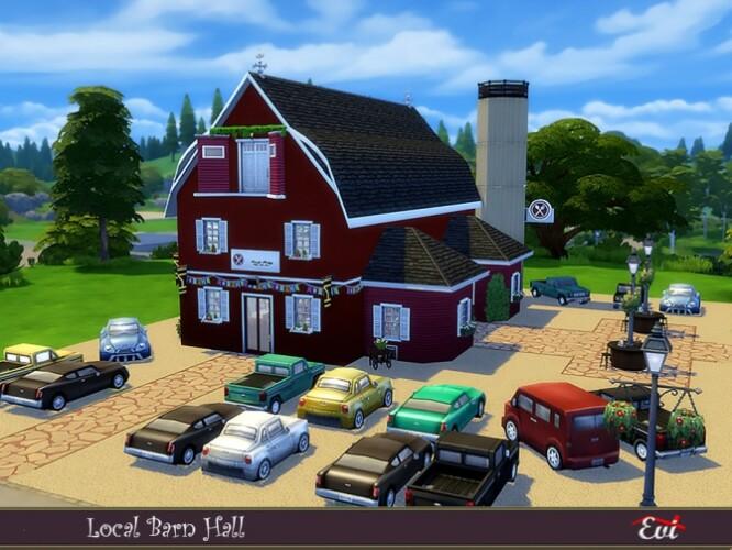 Local barn hall by evi
