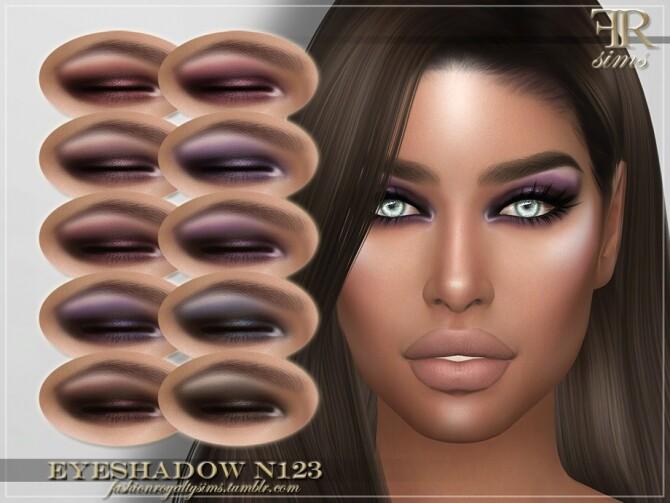 Sims 4 FRS Eyeshadow N123 by FashionRoyaltySims at TSR
