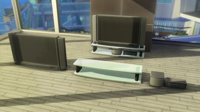 Soma 44 PancakeKek Television Set by simsi45