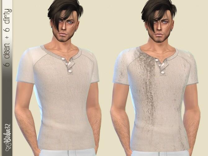 Sims 4 Lino T Shirt by Birba32 at TSR