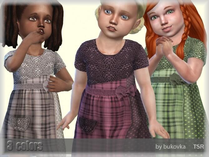 Dress Farm by bukovka at TSR image 669 670x503 Sims 4 Updates