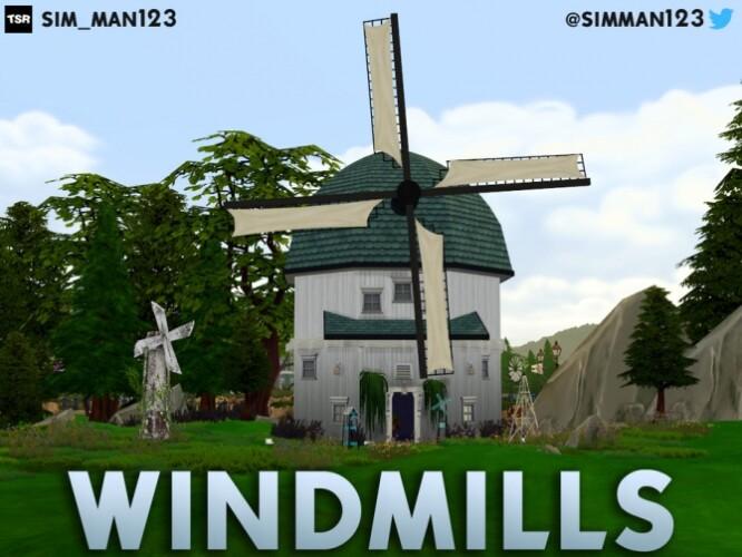 Windmills Eco Living by sim_man123