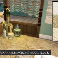 Cascadia Herringbone Wood Flooring by neinahpets