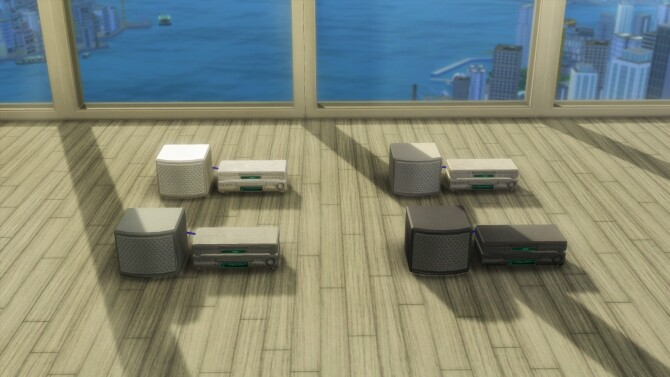 Soma 44 PancakeKek Television Set by simsi45 at Mod The Sims image 6811 670x377 Sims 4 Updates