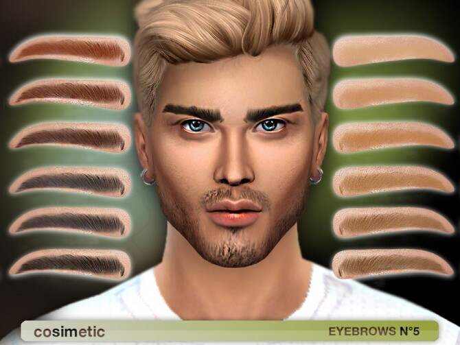Eyebrows N5 by cosimetic at TSR image 69 670x503 Sims 4 Updates