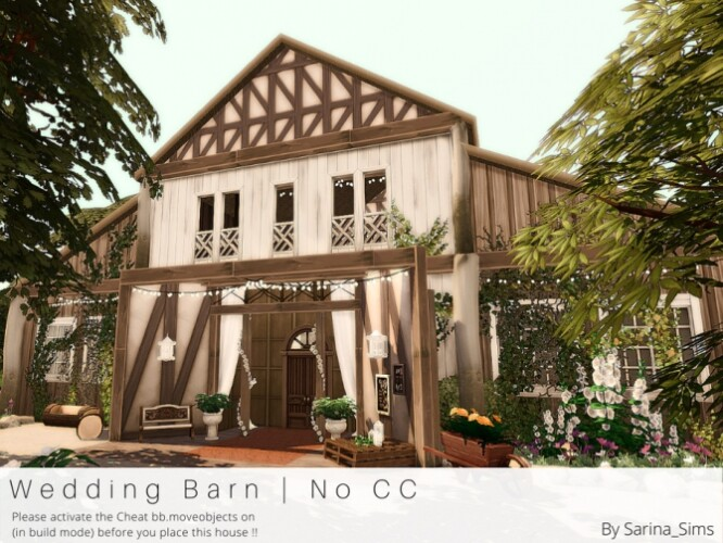 Wedding Barn by Sarina_Sims