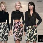 Soho Pencil Skirt by neinahpets