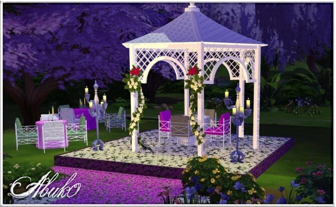 Sims 4 Palaka Outdoor Set at Abuk0 Sims4