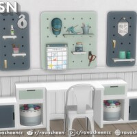 Peg To Differ 2 Pegboard Set by RAVASHEEN