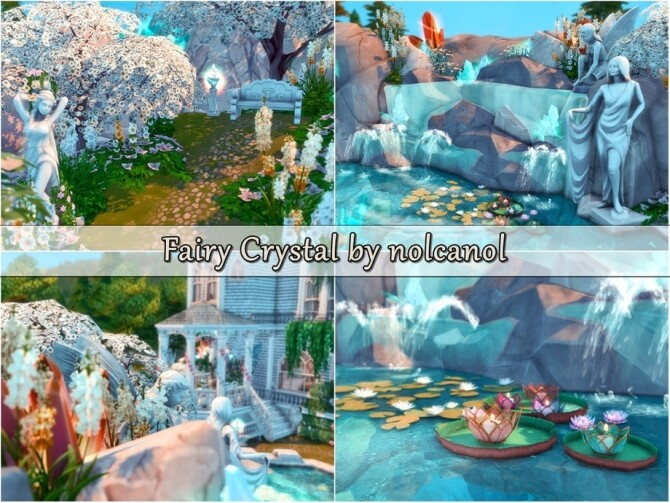 Fairy Crystal Castle by nolcanol at TSR image 720 670x503 Sims 4 Updates