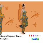 Ankarah Summer Dress by drteekaycee