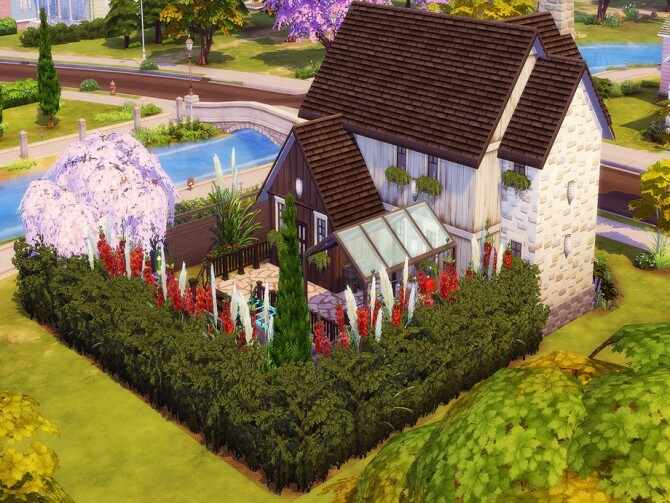 623 Courtyard Lane Family Home by candiecoatediv at TSR image 73 670x503 Sims 4 Updates