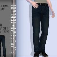 Elijah Kamski Jeans by PlayersWonderland