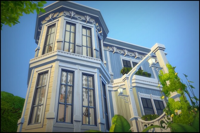 Sims 4 Crick Cabana by Hallgerd at Mod The Sims