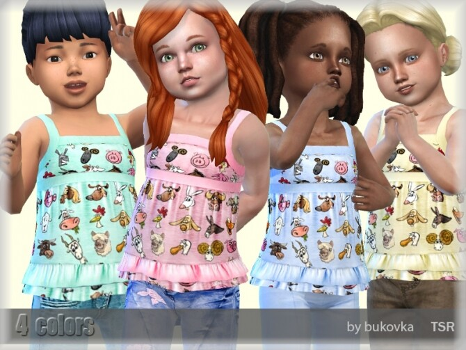 Shirt Fun Farm by bukovka at TSR image 756 670x503 Sims 4 Updates