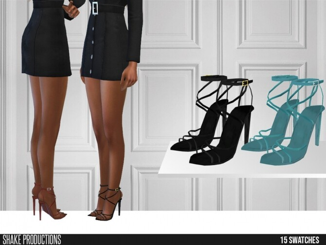487 High Heels by ShakeProductions at TSR image 766 670x503 Sims 4 Updates