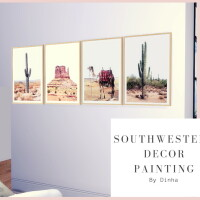 Southwestern Decor Painting
