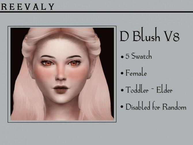 Sims 4 D Blush V8 by Reevaly at TSR
