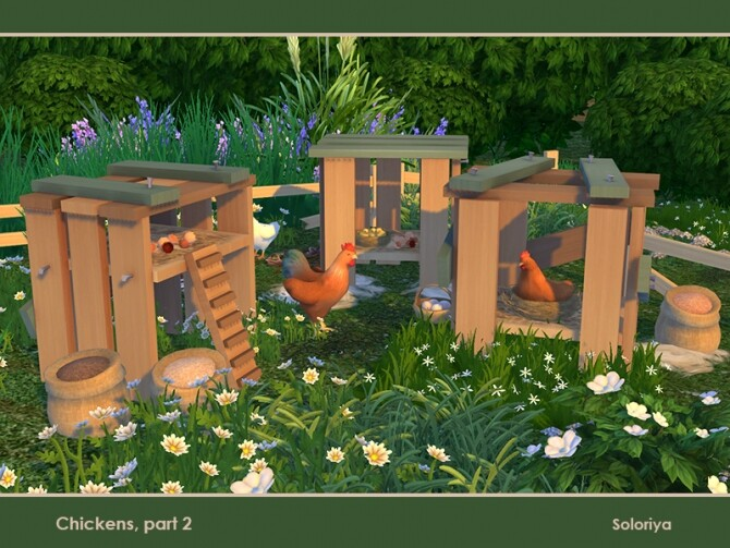 Chickens Part 2 by soloriya at TSR image 781 670x503 Sims 4 Updates
