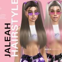 Jaleah Hairstyle by LeahLillith
