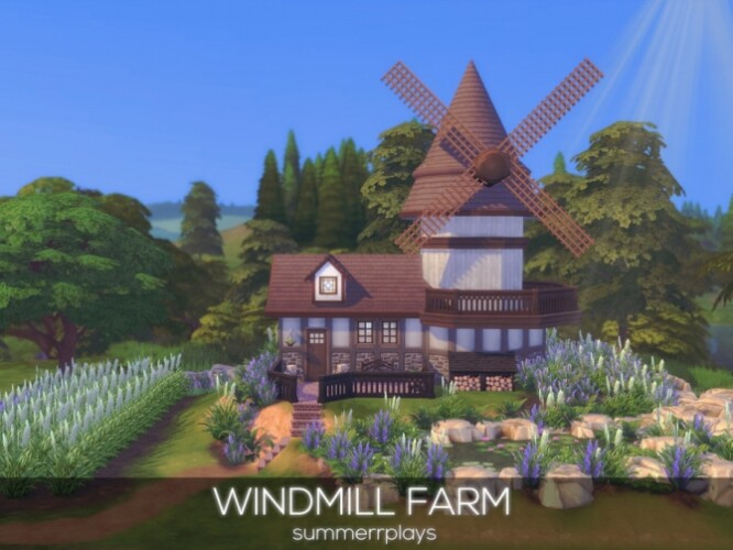 Windmill Farm by Summerr Plays