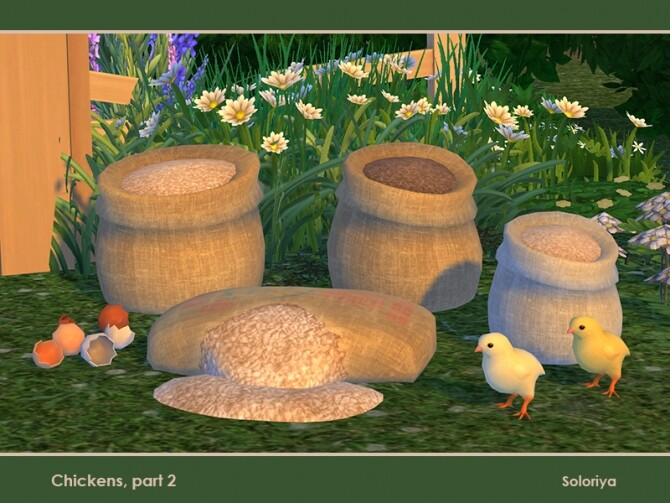 Chickens Part 2 by soloriya at TSR image 791 670x503 Sims 4 Updates