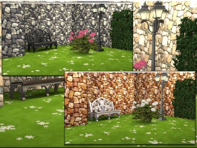 Sims 4 MB Stony Style Giant Boulder by matomibotaki at TSR