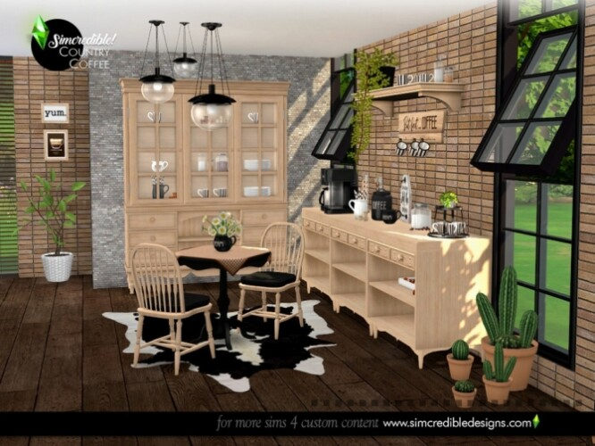 Country Coffee Dining Area by SIMcredible