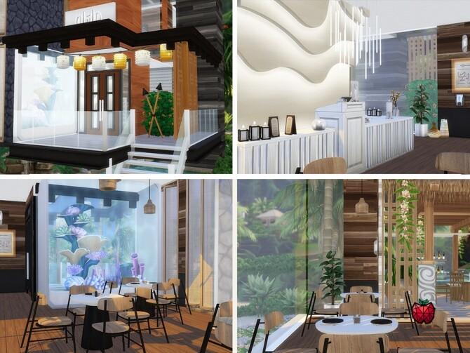 Sims 4 Sandy restaurant by melapples at TSR