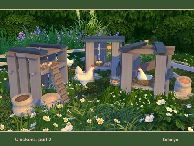 Chickens Part 2 by soloriya at TSR image 811 670x503 Sims 4 Updates