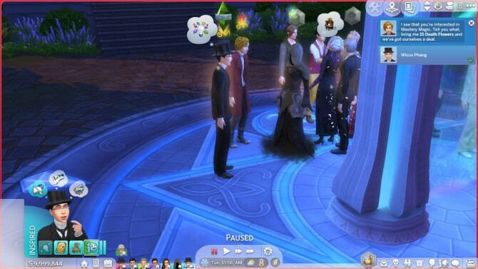 Sims 4 Sage of Mastery Magic + Mastery Spells + Ghost Butler by TwelfthDoctor1 at Mod The Sims